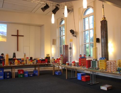 Hinter den Kulissen einer Lego-Stadt
